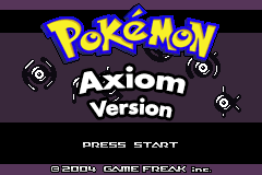 Pokemon Axiom Version Screenshot
