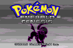 Pokemon Blazing Emerald Screenshot