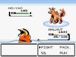 Pokemon Brass Version Screenshot
