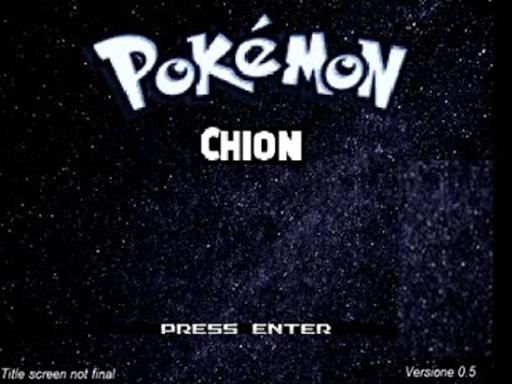 Pokemon Chion Screenshot