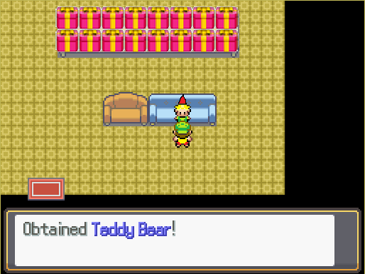 Pokemon Christmas Night Screenshot