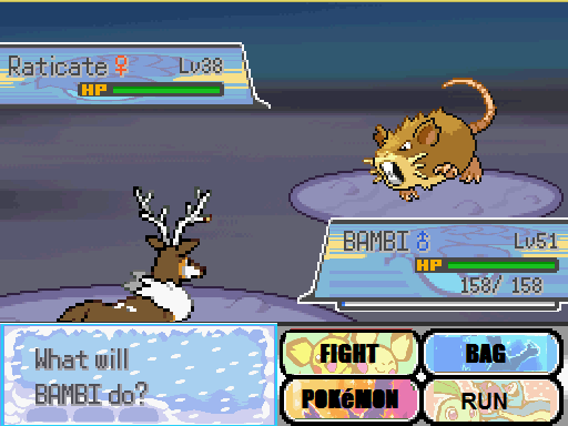 Pokemon Christmas Night Screenshot