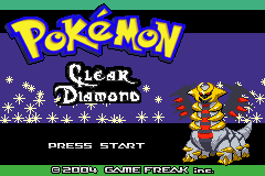 Pokemon Clear Diamond Screenshot