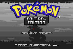 Pokemon Coltan Edition Screenshot