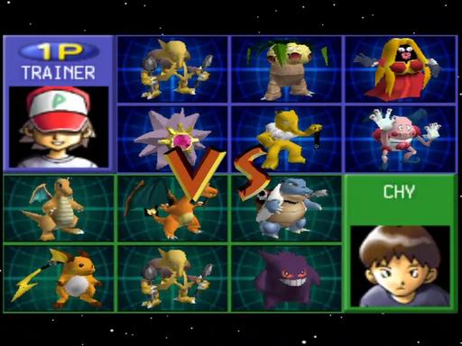 Pokemon Cross Stadium Screenshot