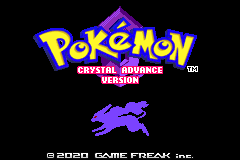 Pokemon Crystal Advance Screenshot
