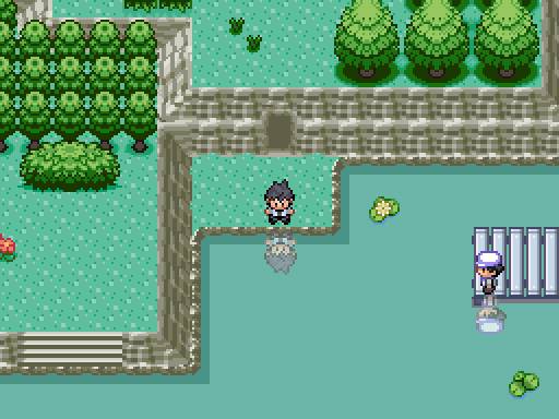 Pokemon Crystal Rain Screenshot