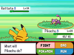 Pokemon Cursed Black Screenshot