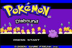 Pokemon Diabound Screenshot
