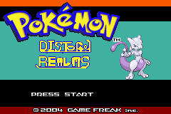 Pokemon Distorted Realms Screenshot