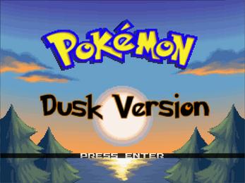 Pokemon Dusk Screenshot