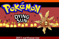 Pokemon Dying Sun Screenshot
