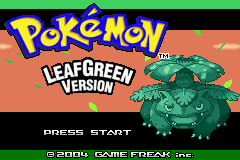 Pokemon Emerald Green Screenshot