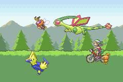 Pokemon Emerald Lucario Screenshot