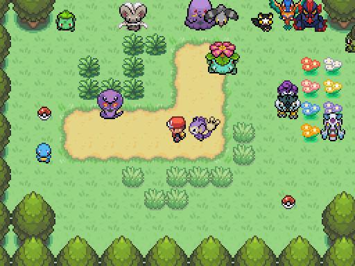 Pokemon Evil Dhelmise Screenshot