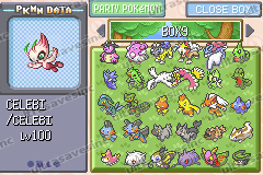 Pokemon Excelsior Screenshot