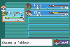 Pokemon Fire Red Missingno Screenshot