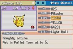 Pokemon Fire Yellow Screenshot