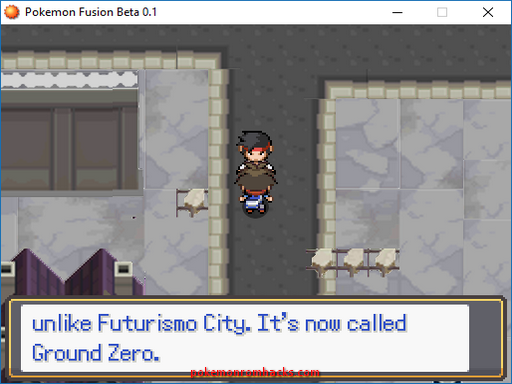 Pokemon Fission and Fusion Versions Screenshot