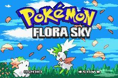 Pokemon Flora Sky Rebirth Screenshot