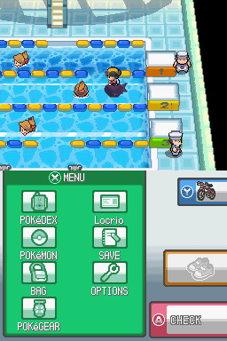 Pokemon Heart Gold Golden Edition Screenshot