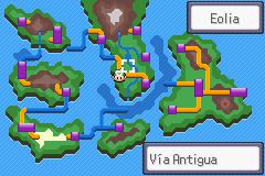 Pokemon Islas del Viento Screenshot