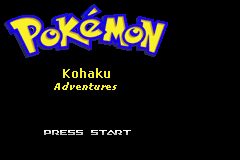 Pokemon Kohaku Adventures Screenshot