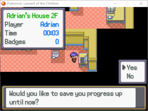Pokemon: Lament of the Children Screenshot