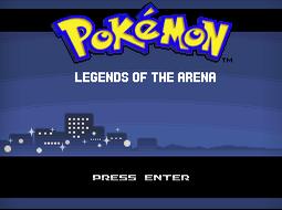 pokemon legends of the arena rom