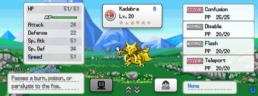 Pokemon Lost Story Screenshot