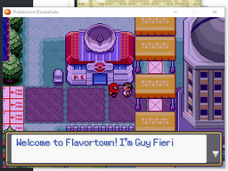 Pokemon Meat Version Screenshot