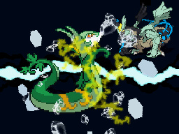 Pokemon Moon Black 2 Screenshot