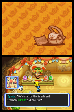 Pokemon Mystery Dungeon Explorers of Sea Screenshot