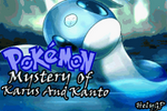 Pokemon Mystery Of Karus And Kanto Screenshot