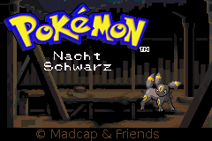 Pokemon Nachtschwarz Screenshot