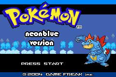 Pokemon Neon Blue Screenshot