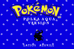 Pokemon Polka Aqua Screenshot