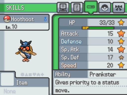 Pokemon Postal Service Screenshot