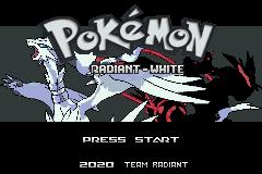 Pokemon Radiant White Screenshot