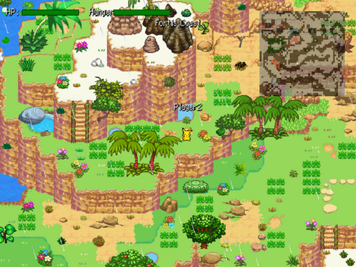 Pokemon Realms of Mystery Screenshot