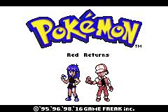 Pokemon RED RETURNS Screenshot