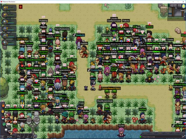 Pokemon Revolution Online Screenshot