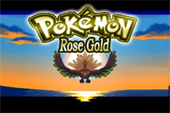 Pokemon Rose Gold Screenshot