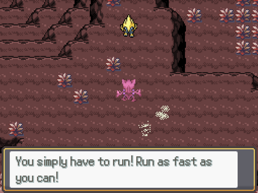 Pokemon Run Screenshot