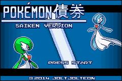 Pokemon Saiken Screenshot