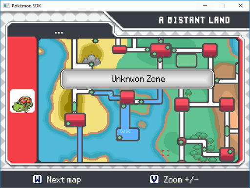 Pokemon SDK Screenshot