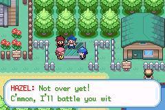 Pokemon Sea Temple Screenshot