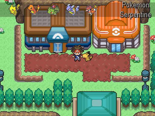 Pokemon Serpentine Screenshot