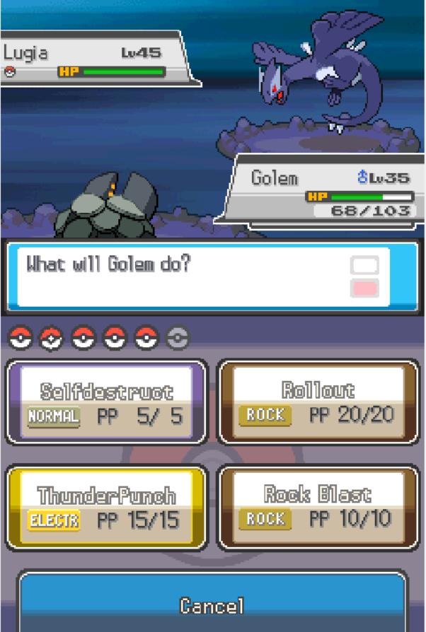 Pokemon Soothing Silver Screenshot