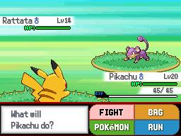 Pokemon Style Screenshot